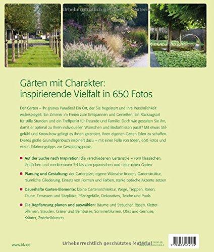 Gartengestaltung: Das Inspirationsbuch - Buchrückseite