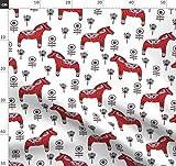 ZUNTO dalapferde Haken Selbstklebend Bad und Küche Handtuchhalter Kleiderhaken Ohne Bohren 4 Stück
