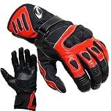 Motorradhandschuhe Summer PROANTI Motorrad Handschuhe (Gr. M - XXL, Rot)