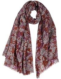 Timezone Textil Damen Schal 10-4088 Flower scarf, geblümt