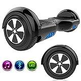 GeekMe Hoverboard 6,5 Pouces Gyropode Auto-équilibré UL2272 certifiée Bluetooth Intégré - Scooter Electrique de Moteur 700W Cadeau pour Enfants et Adultes