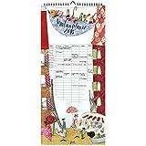 Familienplaner 2018 aus dem Grätz Verlag, fünfspaltig, mit Illustrationen von Silke Leffler