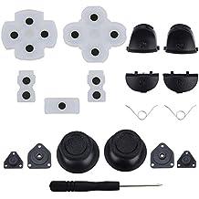 ASIV L1 R1 L2 R2 Botones de Disparo + 2 Muelles 2 Joystick Pulgar Sticks + 1 Set Goma Conductora + Destornillador para PS4 Controlador Accesorios