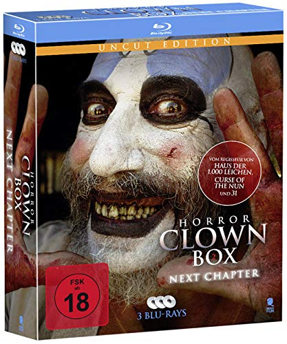 Horror Clown Box 2 - Uncut Edition [Blu-ray] Uncut-box