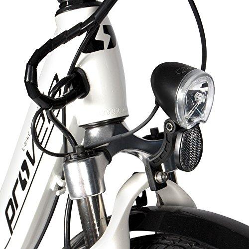 E-Bike Faltrad in weiß | Unisex | Bild 3*
