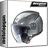 NOLAN CASCO MOTO JET N33 EVO CLASSIC SCRATCHED CHROME 006 TG. M