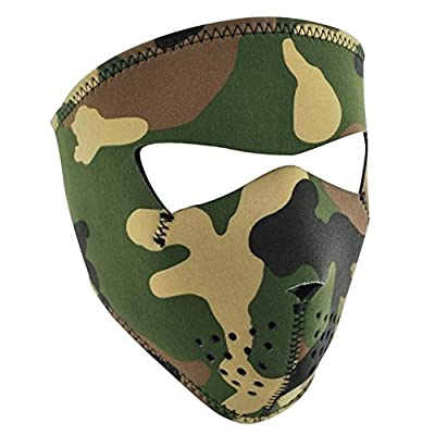 Lmeno Skull Full Face Mask Windproof Ski Motorcycle Cold Biker Cycling Riding Facemask Headwear Warmer Duty Helmet - Multi-cool pattern Optional by Lmeno