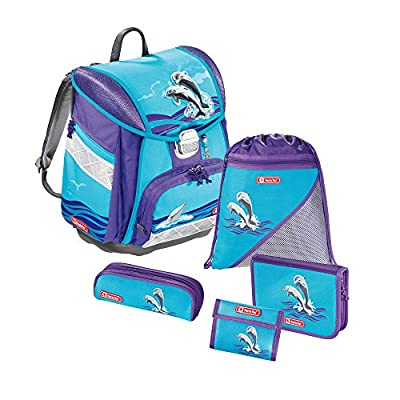 Step by Step Touch Ranzenset 5-tlg, Happy Dolphins - Delfine