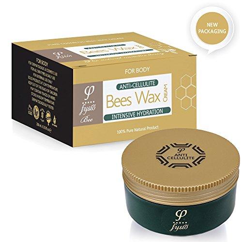 Fysio Natürliche und Biologische Anti-Zellulite Bienenwachs Crème – Hergestellt aus natürlichen Inhaltsstoffen – 200ml – Großartig...
