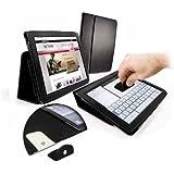 Tuff-Luv Étui avec SUPPORT tampon de nettoyage pour tablette Archos Archos 9,7 Carbon / Arnova 9 G3 noir - noir