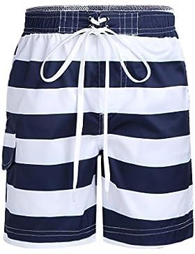 Freebily Traje de Baño para Niños - Bañador de Natación de Playa Pantalones Cortos para Niños (3-12Años)