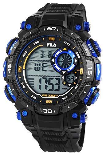 Fila Reloj Digital para Hombre de Cuarzo con Correa en Silicona 38-826-001