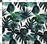 Monstera, Palme, Dschungel, Baby, Tropisch, Blätter Stoffe