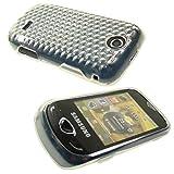 caseroxx Handy TPU-Bumper für Samsung S3370 Corby 3G aus TPU, stoßfeste Schutzhülle Smartphone (Handyhülle TPU in transparent)