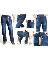 HB's Mens Motorbike DuPontTM Kevlar® Lined Jeans - Motorcycle Motorbike Trouser / Pants