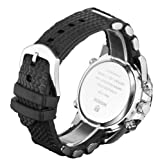 - 51ttv6jO64L - Denis Charm New Fashion WEIDE Mens Sports Watch Analog & Digital Dual Time LCD Backlight WH-1104-1 + Watch Gift Box