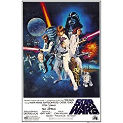 Empire 210784 Star Wars - Orange Sword Of Darth Vad - Poster Druck - 61 x 91.5 cm