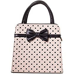 Prohibido bolsa de Carla - Cream/Black / One Size