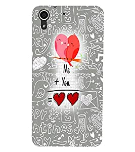 HTC DESIRE 728 LOVE Back Cover by PRINTSWAG