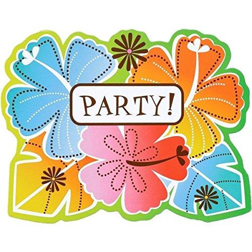 Amscan Fun in the Sun Party-Einladungskarten, 14 x 11 cm, 50 Stück
