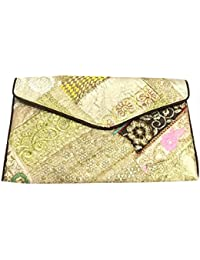Shubhangi Women's Sling Bag (Jaipuri Embroidered Handicraft Traditional Sling Bags,ZARI GOTA WORK,Multi-Coloured...
