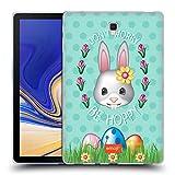 Head Case Designs Offizielle Emoji® Be Hoppy Ostern Soft Gel Hülle für Samsung Galaxy Tab S4 10.5 (2018)