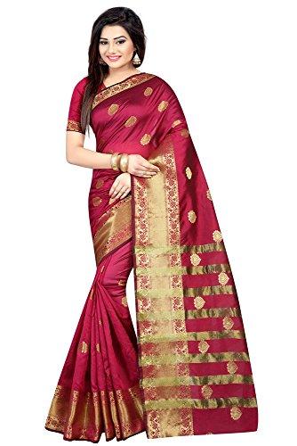 Sarees (Deepjyoti Creation Poly Cotton Offer Designer Sarres For Women,s