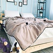 battar de bediing Lichte suave cómodo Verano Aire Acondicionado Edredón lavable 1pieza, Modale Toalla bordado Cool Verano techo, Liebe, 150 x 200cm