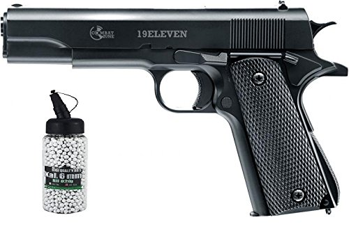 19Eleven Vollmetall 2.5999 0,5 Jule 6 mm BB Federdruck Softair Softair Munition Bio BBS Premium Selection 2000 Stück 0,20 g 6mm ()