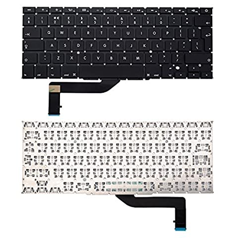 BisLinks® UK ENGLISH Layout Laptop Keyboard Apple Mac Book Pro 15 Retina A1398 (2012-2015)