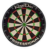 Kings Dart Sisal Bristle Professional Dartscheibe