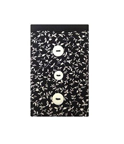 Black Flower Imprimer Chaussettes Apple pour iPod - Apple iPod Nano