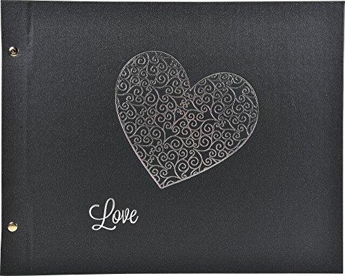 Exacompta - 60054E - Album Photos à Vis Harmony - 40 Pages Noires - 37 x 29 cm - Noir