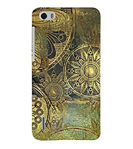 Fiobs Designer Phone Back Case Cover Huawei Honor 6 ( Art Design Colorful Pattern Royal Design )