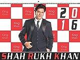 Shahrukh Khan Calender - Wandkalender 2016 in Großformat A3 (13 Blätter, Farbig, Spiralbindung) Bollywood Kalender