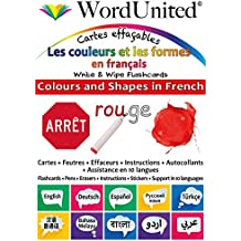 Colours and Shapes in French: Write & Wipe Flashcards
