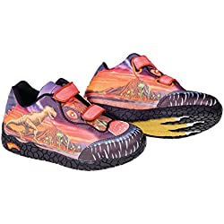 Roces Dr T-Rex Zapato de niño, niño, DR T-Rex, rojo