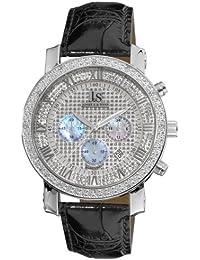 Joshua and Sons Camiseta Dazzling Diamantes Reloj cronógrafo