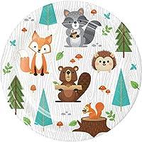 Party Bags 2 Go Wild One Woodland Animals 8 Carat Dessert Plates