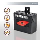 Aspectek Predator Eye Nighttime Solar Powered Animal Repeller - 2 Pack, Waterproof, Deterrent Light Nocturnal Animals. Protects & safeguards your home, field, livestock.