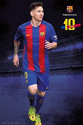 Póster FC Barcelona – Lionel Messi Temporada 2016/2017 (61cm x 91,5cm)