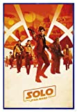 Star Wars Solo: A Story Poster One Sheet (94x63,5 cm) gerahmt in: Rahmen Blau