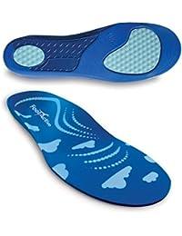 FootActive Soft Walk - Dämpfung, Unterstützung - Laufen wie auf Wolken! - Marken-Einlegesohlen für alle Generationen! -
