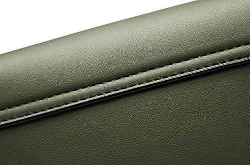 Versione coreana dello zaino obliquo della spalla, borse, piccolo sacchetto quadrato della catena, mini sacchetto semplice ( Colore : Nero ) Marrone