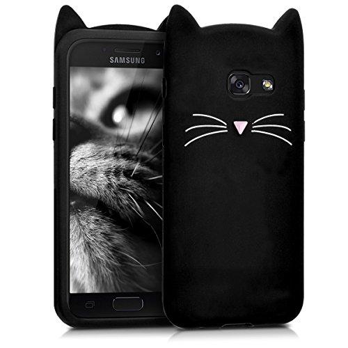 kwmobile Samsung Galaxy A3 (2017) Hülle - Handyhülle für Samsung Galaxy A3 (2017) - Handy Case Cover Silikon Schutzhülle