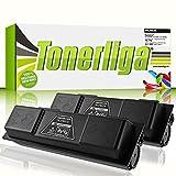 2X TK-170 Premium Toner f. Kyocera FS-1370dn FS-1320d FS-1320dn P2135d P2135dn | Kompatibel | Ideal für Ihre gestochen scharfen Ausdrucke
