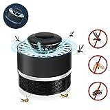 KOBWA Lampara Mata Mosquitos Electrico, 360° Bug Zapper Mosquito Killer Lamp, Sin Productos Químicos