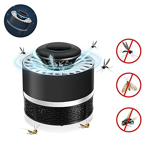 KOBWA Lampara Mata Mosquitos Electrico, 360° Bug Zapper Mosquito Killer Lamp, Sin...