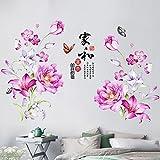 Gosunfly Wandaufkleber Wandtattoo Wohnzimmernachttisch Ornamente, Warme Tapeten, Selbstklebende Raumtapete, Schlafzimmer Wohnzimmer Aufkleber Wasserdicht