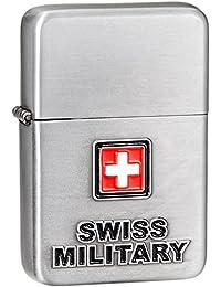 Swiss Military Silver Travel Lighter (LIG-5)